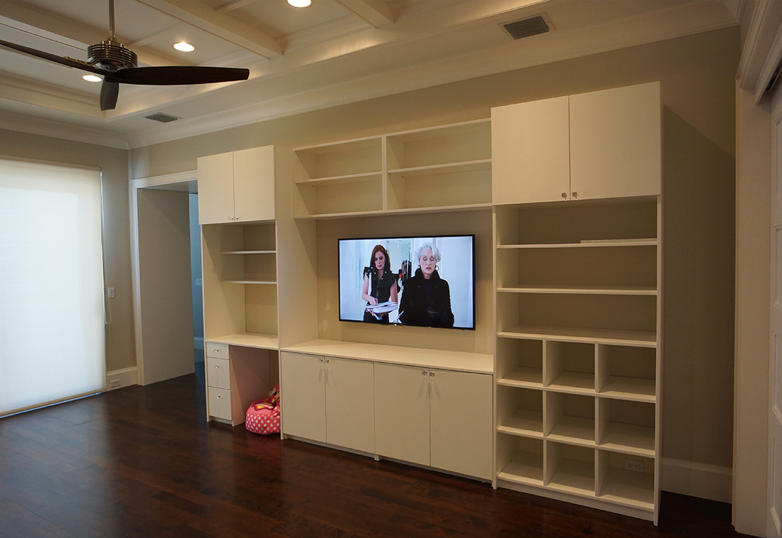 Custom Storage Space in South Florida