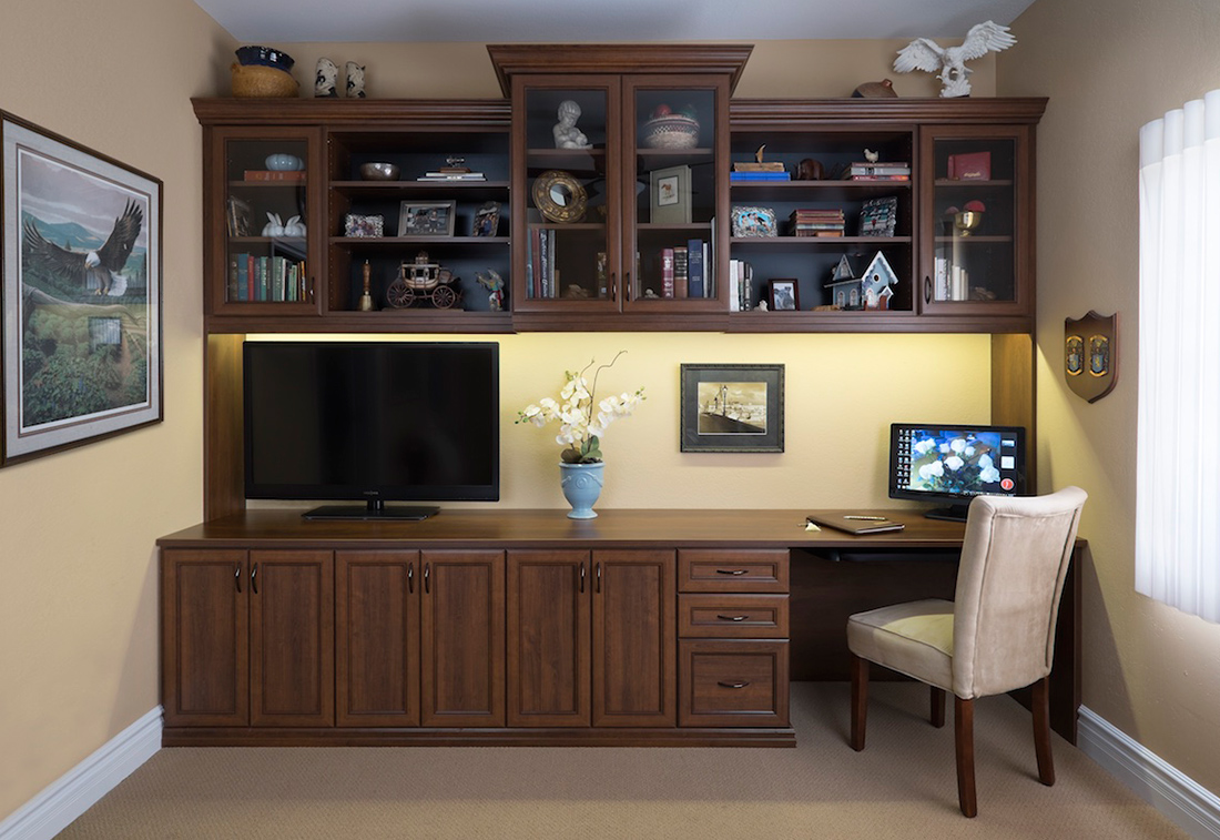 Custom Home Office Design in South Florida